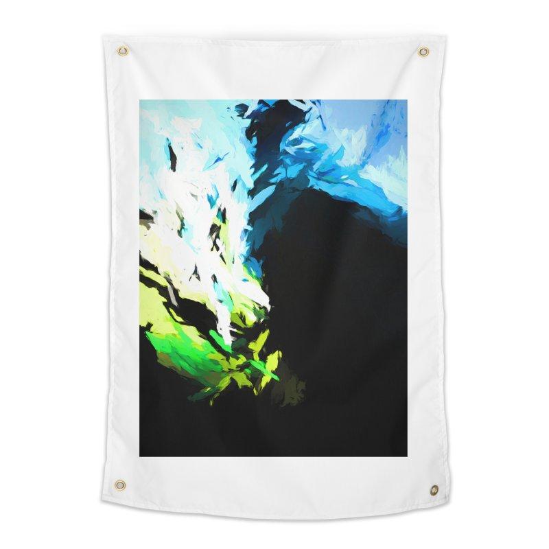 Water Drop Tsunami Slam Home Tapestry by jackievano's Artist Shop