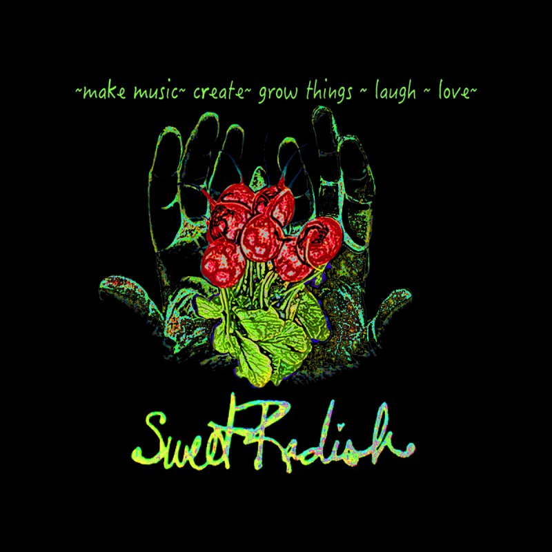 Sweet Radish Motto Men's Longsleeve T-Shirt by jackrabbithollow's Artist Shop