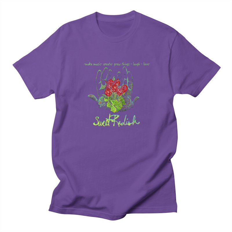Sweet Radish Motto Men's T-Shirt by jackrabbithollow's Artist Shop