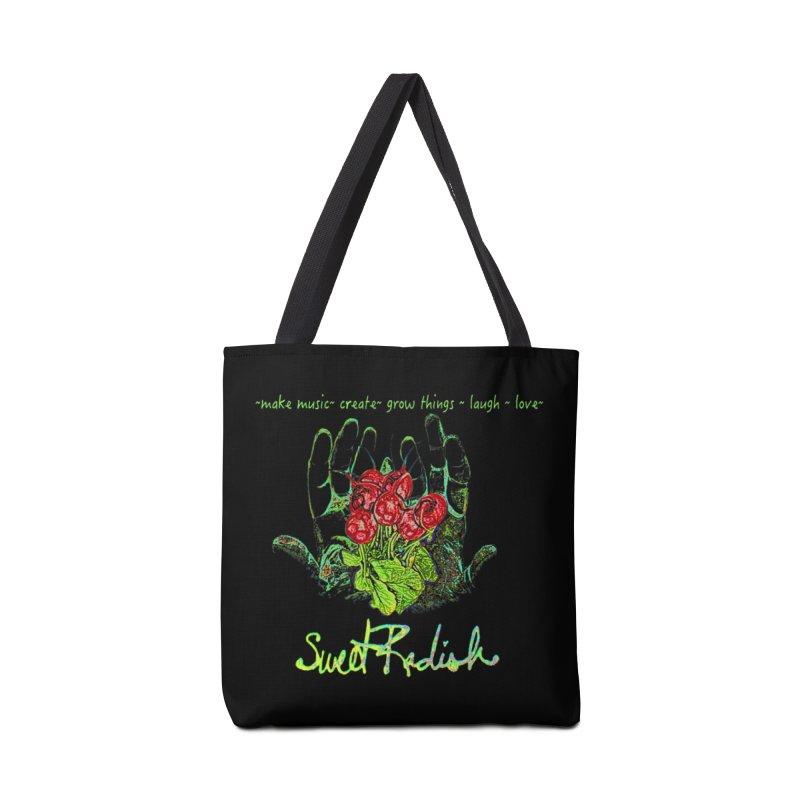 Sweet Radish Motto Accessories Bag by jackrabbithollow's Artist Shop