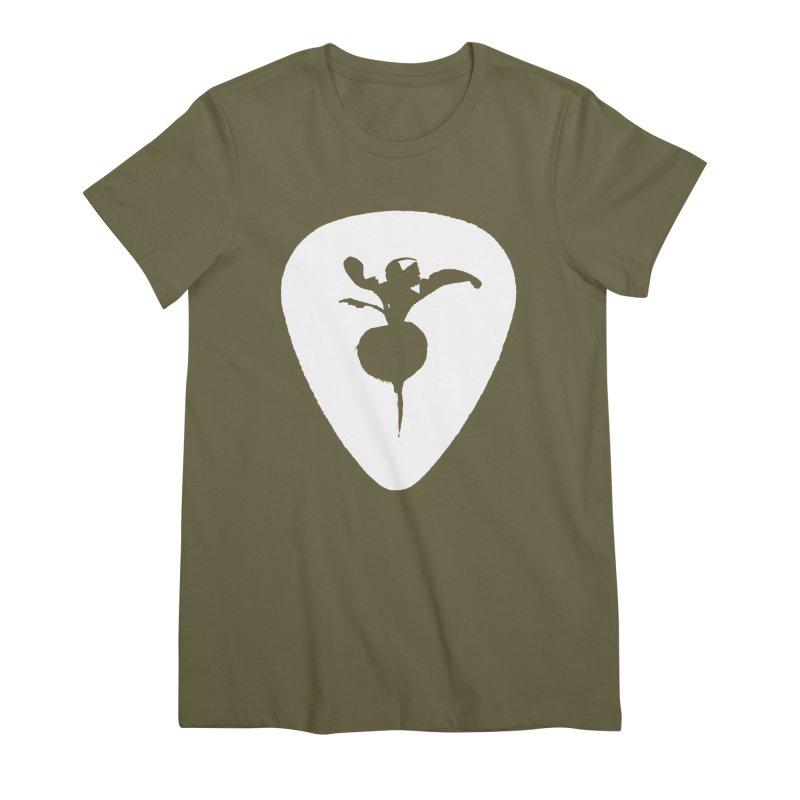 SWEET RADISH PIC LOGO Women's Premium T-Shirt by jackrabbithollow's Artist Shop