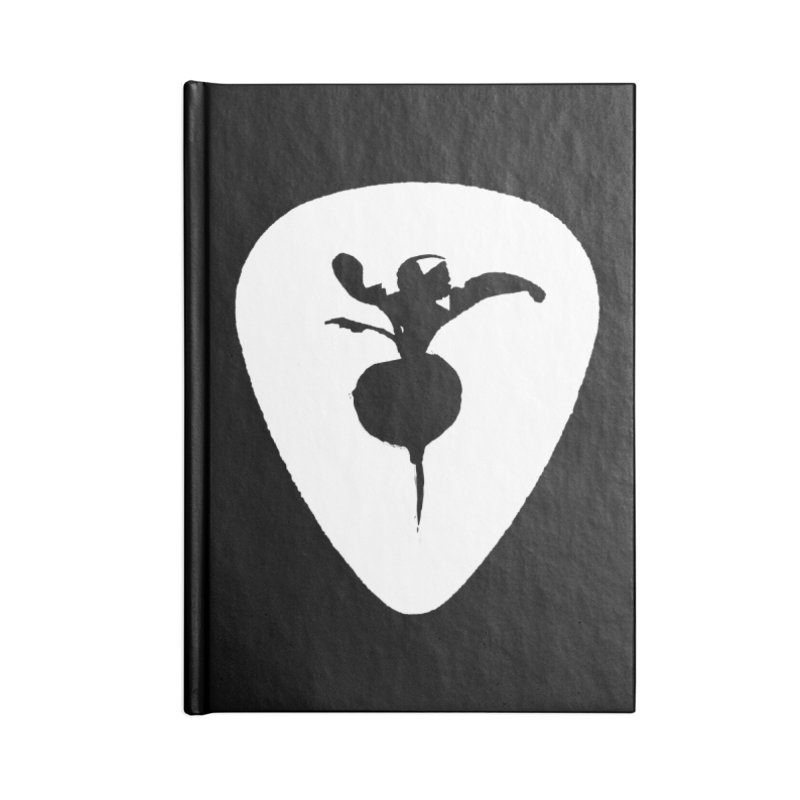 SWEET RADISH PIC LOGO Accessories Lined Journal Notebook by jackrabbithollow's Artist Shop