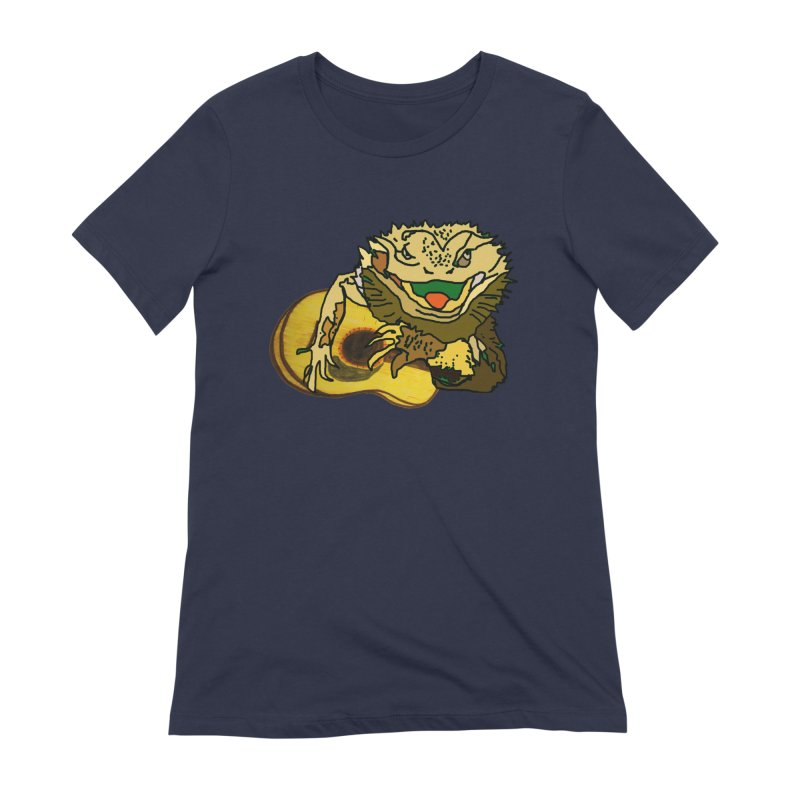 A Lizard in the Spring Women's Extra Soft T-Shirt by jackrabbithollow's Artist Shop