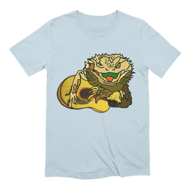 A Lizard in the Spring Men's Extra Soft T-Shirt by jackrabbithollow's Artist Shop