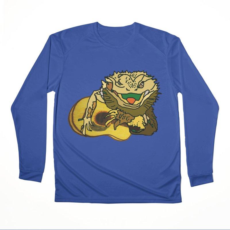 A Lizard in the Spring Men's Performance Longsleeve T-Shirt by jackrabbithollow's Artist Shop