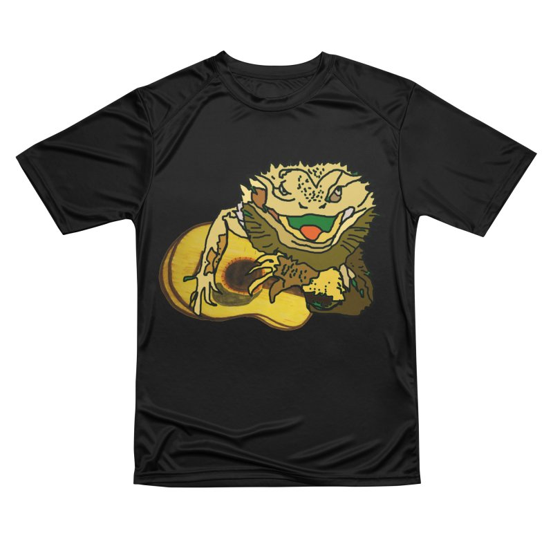 A Lizard in the Spring Men's Performance T-Shirt by jackrabbithollow's Artist Shop