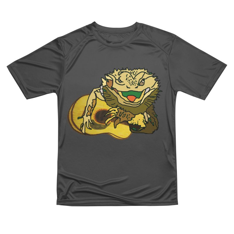 A Lizard in the Spring Women's Performance Unisex T-Shirt by jackrabbithollow's Artist Shop