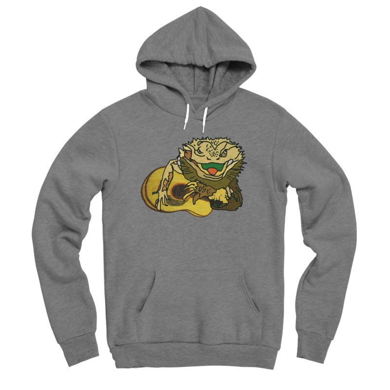 A Lizard in the Spring Men's Sponge Fleece Pullover Hoody by jackrabbithollow's Artist Shop