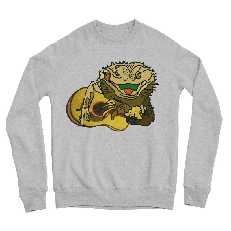 A Lizard in the Spring Women's Sponge Fleece Sweatshirt by jackrabbithollow's Artist Shop