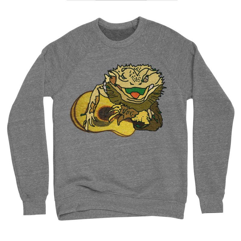 A Lizard in the Spring Men's Sponge Fleece Sweatshirt by jackrabbithollow's Artist Shop