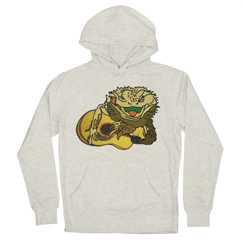 A Lizard in the Spring Women's French Terry Pullover Hoody by jackrabbithollow's Artist Shop
