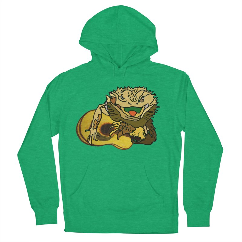 A Lizard in the Spring Men's French Terry Pullover Hoody by jackrabbithollow's Artist Shop