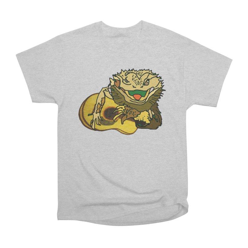 A Lizard in the Spring Men's Heavyweight T-Shirt by jackrabbithollow's Artist Shop