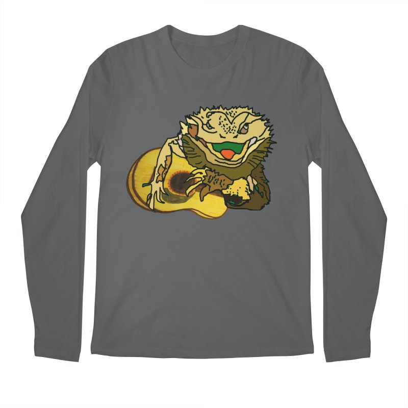 A Lizard in the Spring Men's Longsleeve T-Shirt by jackrabbithollow's Artist Shop