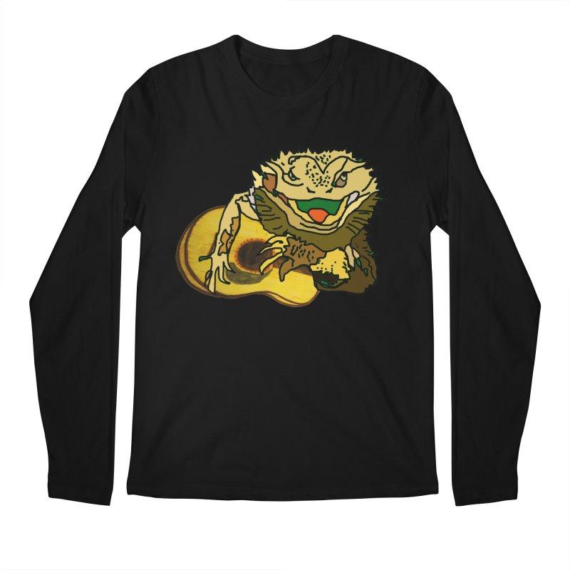 A Lizard in the Spring Men's Regular Longsleeve T-Shirt by jackrabbithollow's Artist Shop