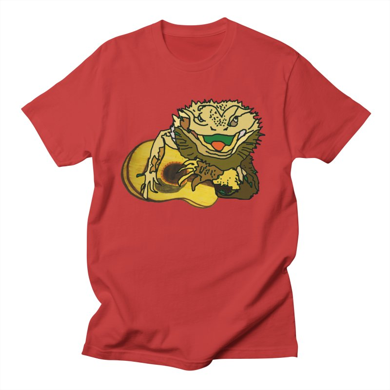 A Lizard in the Spring Men's T-Shirt by jackrabbithollow's Artist Shop