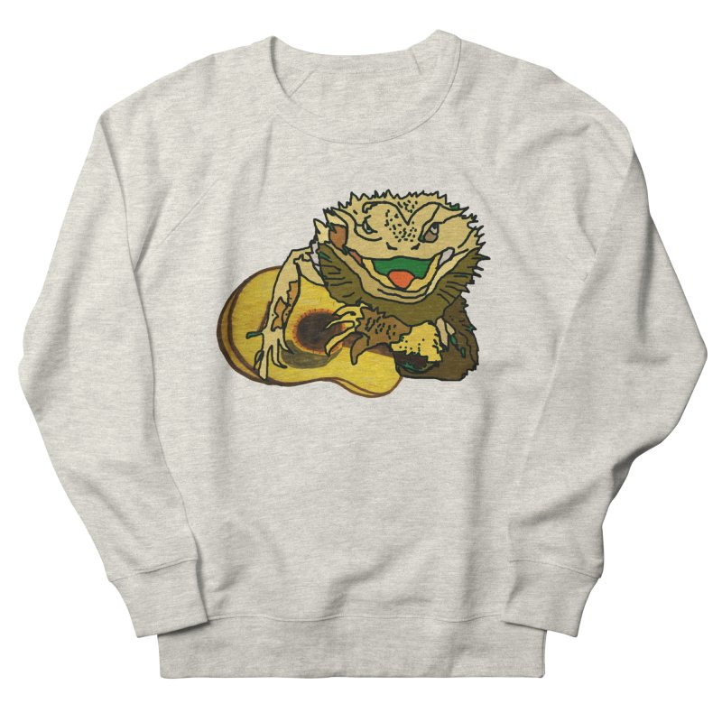 A Lizard in the Spring Women's French Terry Sweatshirt by jackrabbithollow's Artist Shop
