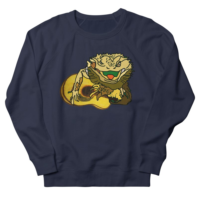 A Lizard in the Spring Men's French Terry Sweatshirt by jackrabbithollow's Artist Shop