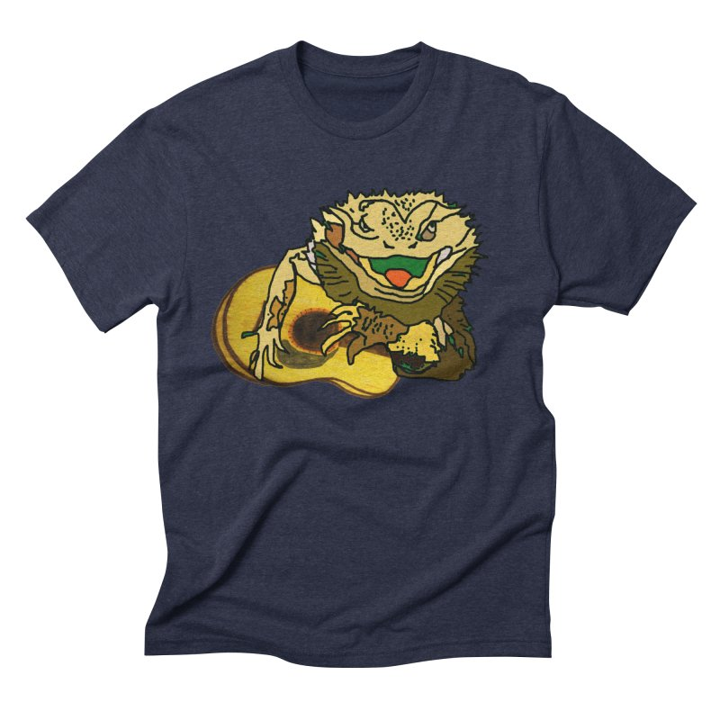 A Lizard in the Spring Men's Triblend T-Shirt by jackrabbithollow's Artist Shop