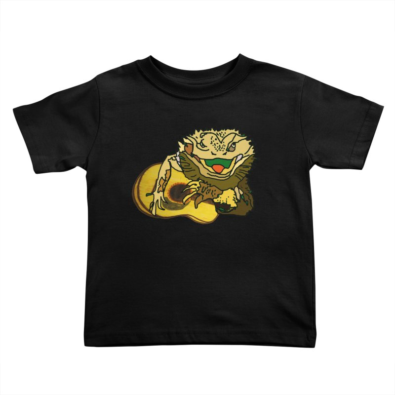A Lizard in the Spring Kids Toddler T-Shirt by jackrabbithollow's Artist Shop