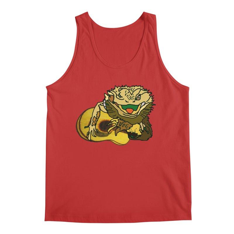 A Lizard in the Spring Men's Regular Tank by jackrabbithollow's Artist Shop