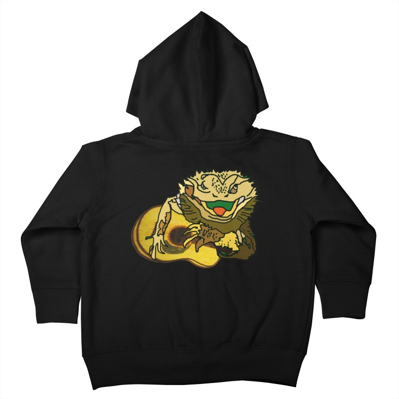 A Lizard in the Spring Kids Toddler Zip-Up Hoody by jackrabbithollow's Artist Shop