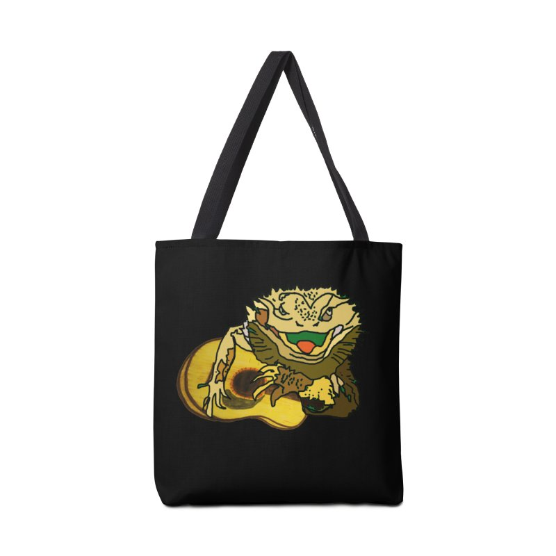 A Lizard in the Spring Accessories Bag by jackrabbithollow's Artist Shop