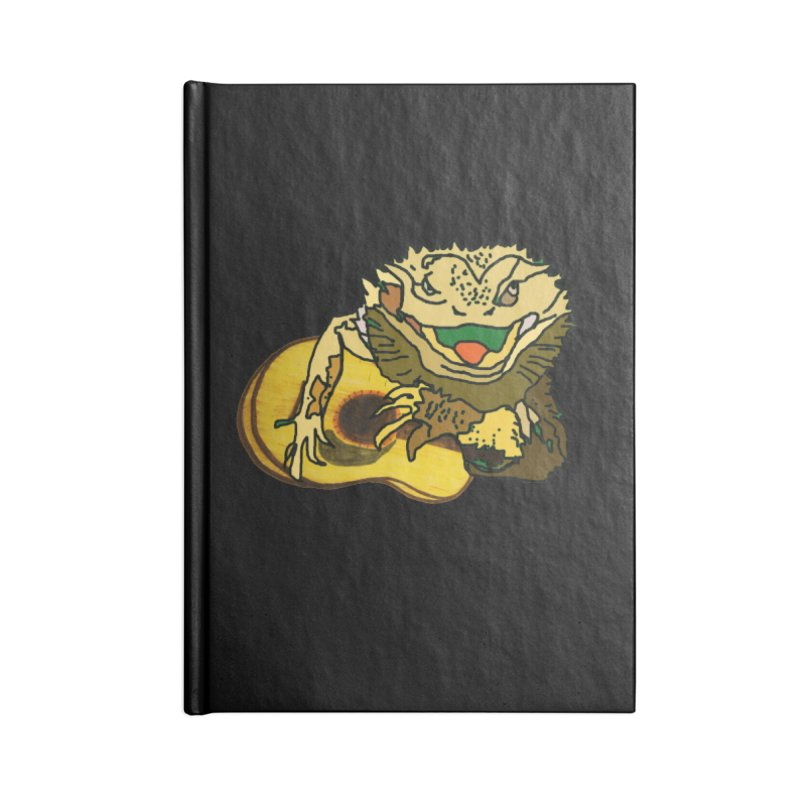 A Lizard in the Spring Accessories Lined Journal Notebook by jackrabbithollow's Artist Shop