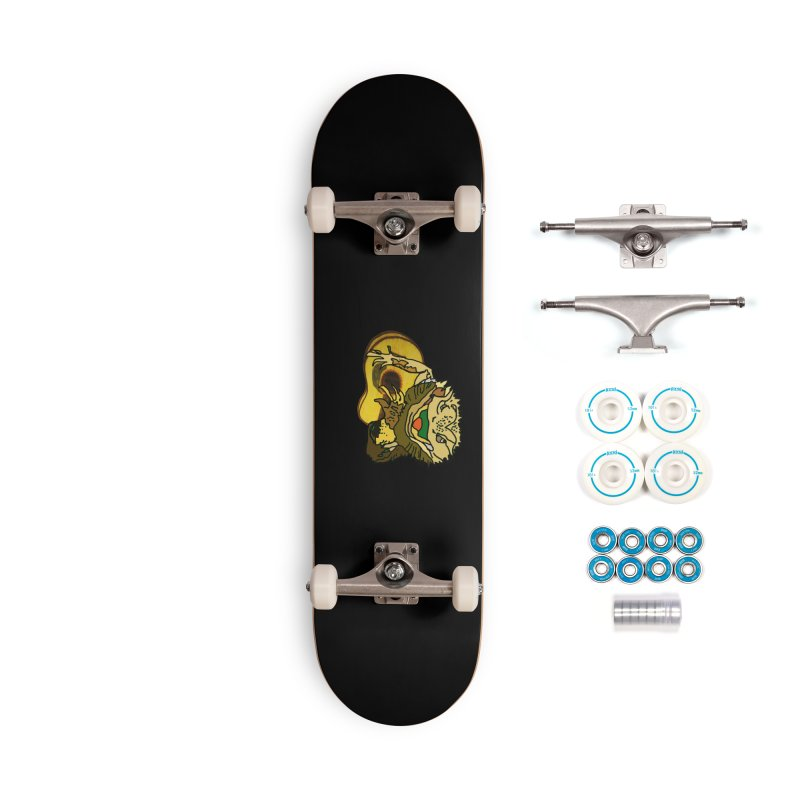 A Lizard in the Spring Accessories Complete - Basic Skateboard by jackrabbithollow's Artist Shop