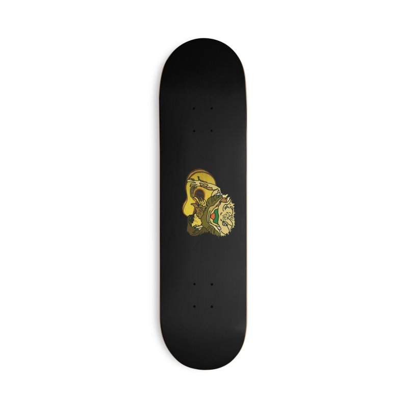 A Lizard in the Spring Accessories Deck Only Skateboard by jackrabbithollow's Artist Shop