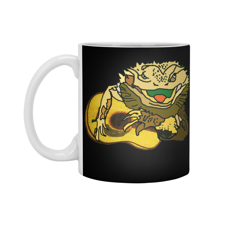 A Lizard in the Spring Accessories Standard Mug by jackrabbithollow's Artist Shop