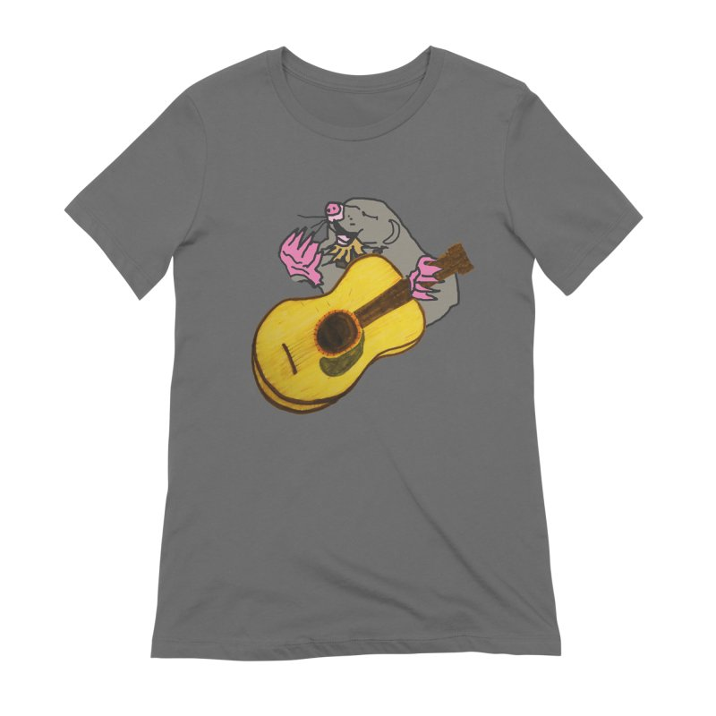 Mole in the Ground Women's T-Shirt by jackrabbithollow's Artist Shop