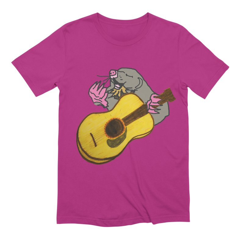 Mole in the Ground Men's Extra Soft T-Shirt by jackrabbithollow's Artist Shop