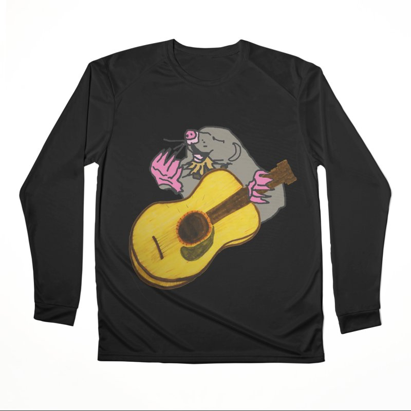 Mole in the Ground Women's Performance Unisex Longsleeve T-Shirt by jackrabbithollow's Artist Shop