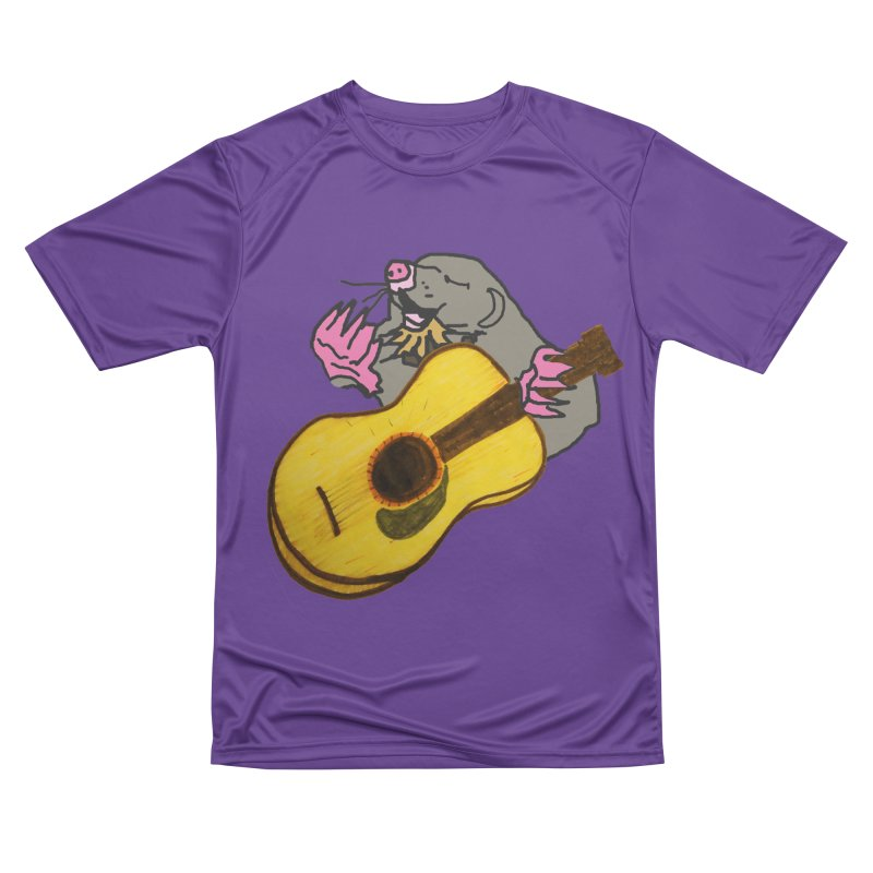 Mole in the Ground Men's Performance T-Shirt by jackrabbithollow's Artist Shop