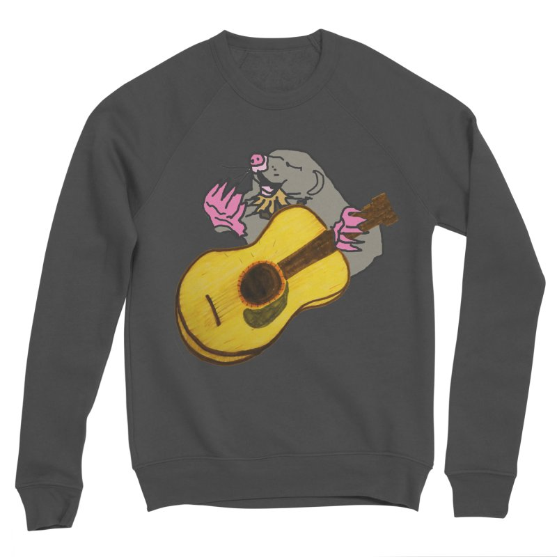 Mole in the Ground Men's Sponge Fleece Sweatshirt by jackrabbithollow's Artist Shop