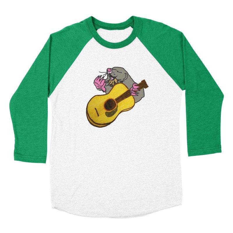 Mole in the Ground Women's Baseball Triblend Longsleeve T-Shirt by jackrabbithollow's Artist Shop