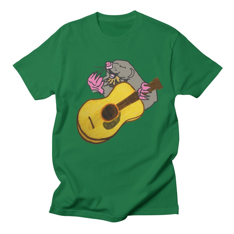 Mole in the Ground Men's T-Shirt by jackrabbithollow's Artist Shop
