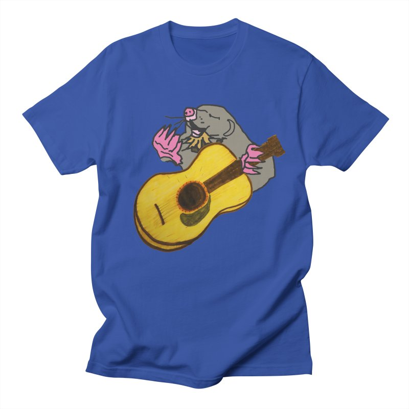 Mole in the Ground Men's Regular T-Shirt by jackrabbithollow's Artist Shop
