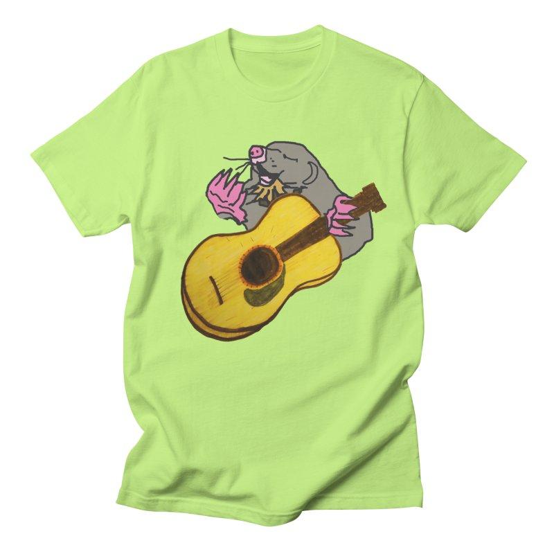 Mole in the Ground Men's T-Shirt by jackrabbithollow's Artist Shop