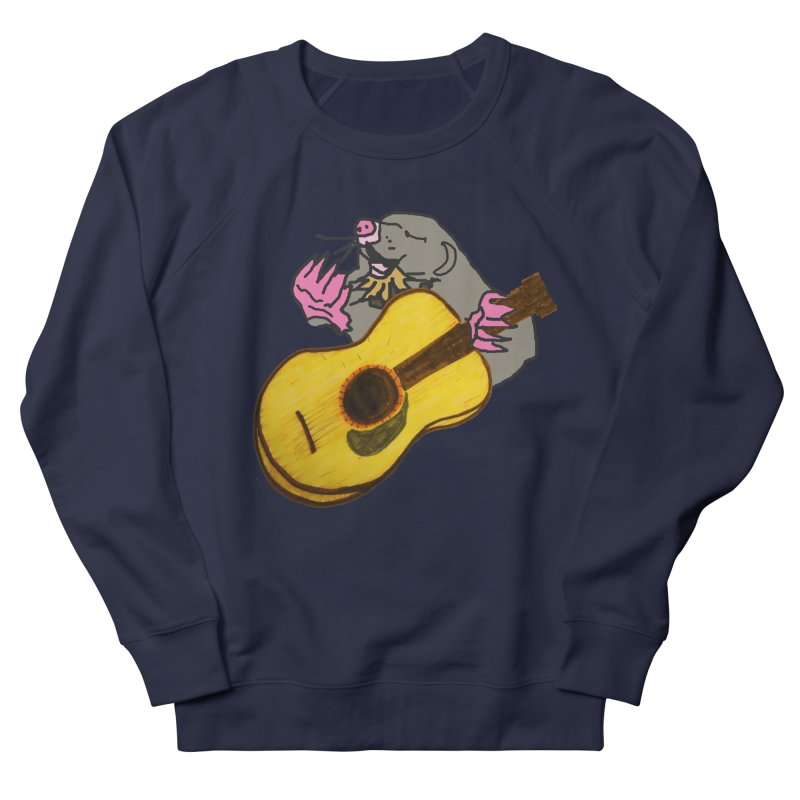 Mole in the Ground Women's French Terry Sweatshirt by jackrabbithollow's Artist Shop
