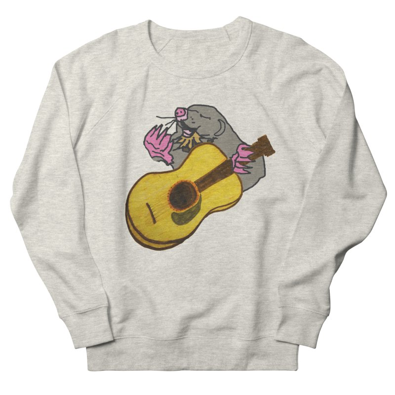 Mole in the Ground Men's French Terry Sweatshirt by jackrabbithollow's Artist Shop