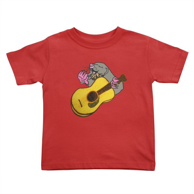 Mole in the Ground Kids Toddler T-Shirt by jackrabbithollow's Artist Shop