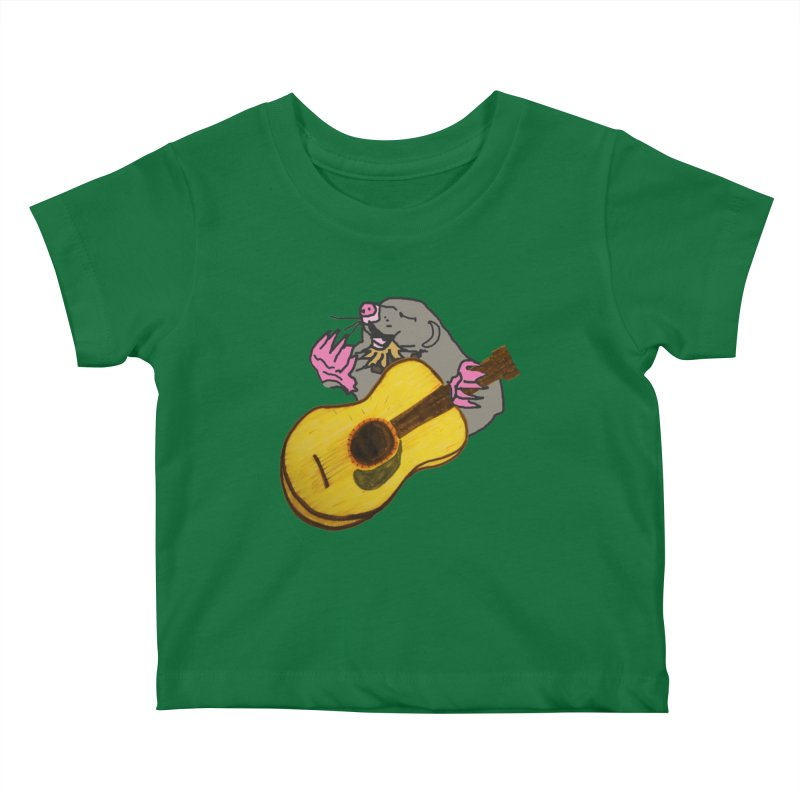 Mole in the Ground Kids Baby T-Shirt by jackrabbithollow's Artist Shop