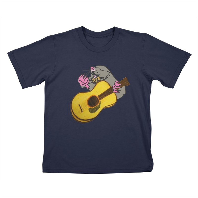 Mole in the Ground Kids T-Shirt by jackrabbithollow's Artist Shop