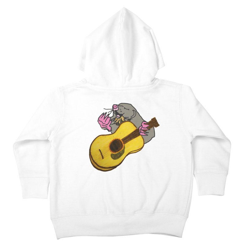 Mole in the Ground Kids Toddler Zip-Up Hoody by jackrabbithollow's Artist Shop