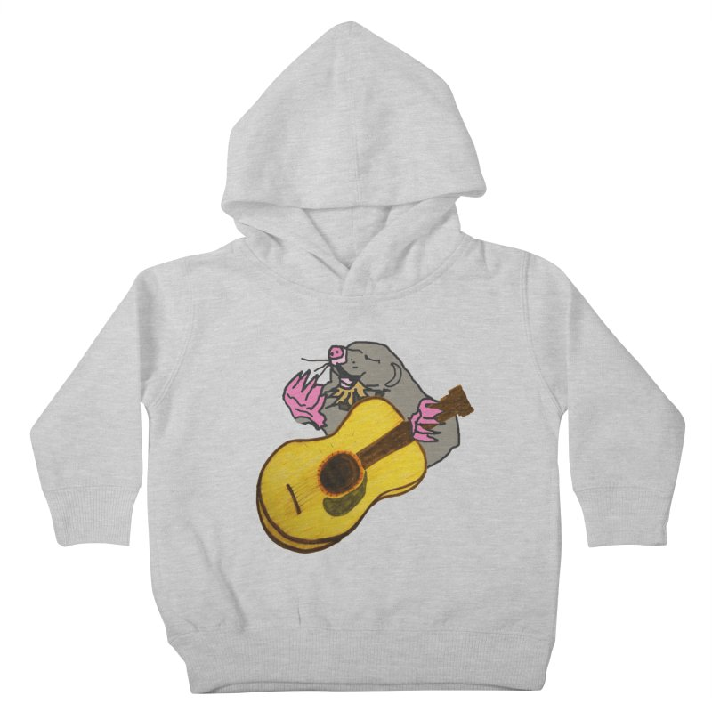 Mole in the Ground Kids Toddler Pullover Hoody by jackrabbithollow's Artist Shop