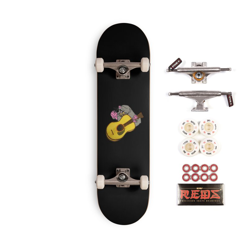 Mole in the Ground Accessories Complete - Pro Skateboard by jackrabbithollow's Artist Shop