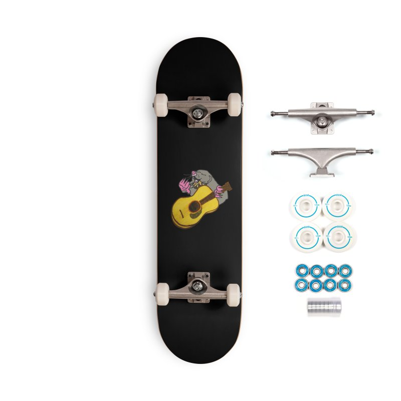 Mole in the Ground Accessories Skateboard by jackrabbithollow's Artist Shop