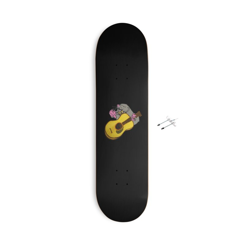 Mole in the Ground Accessories With Hanging Hardware Skateboard by jackrabbithollow's Artist Shop